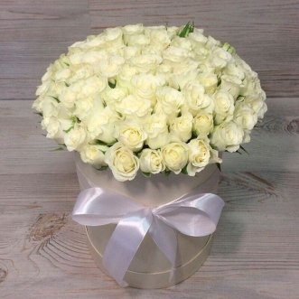 101 кенийская роза в коробке
