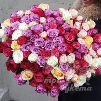 101-raznocvetnaya-roza-premium-60-sm